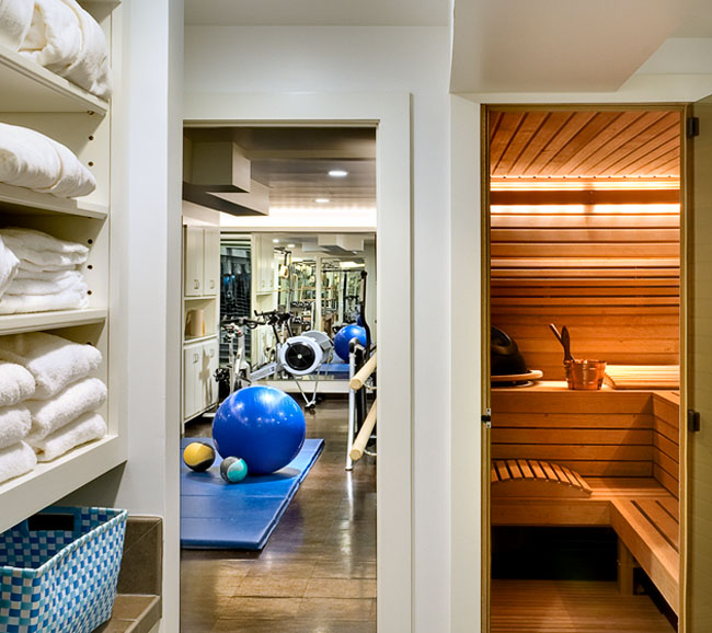 Home Gym Design Ideas Basement: On The Drawing Board