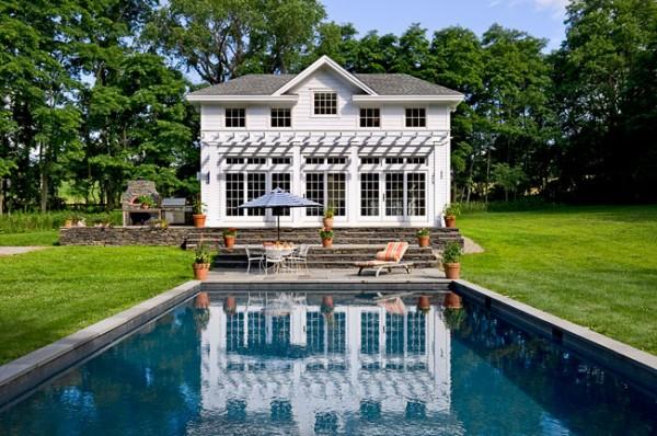 Tuscan Pool House