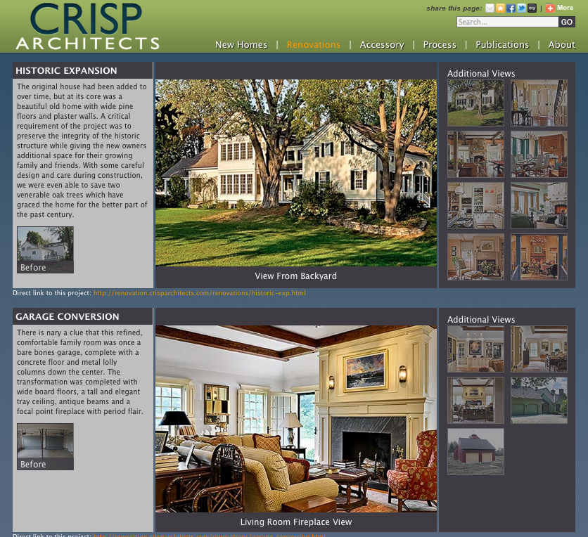 Crisp Architects: On The Drawing Board