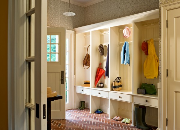 Mudroom Entry With Storage