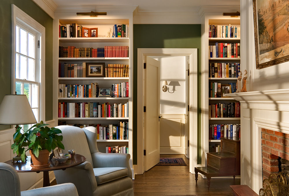 8 Library/Family Rooms