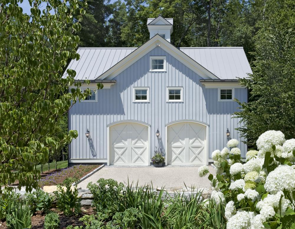 Grey Painted Steel Roof