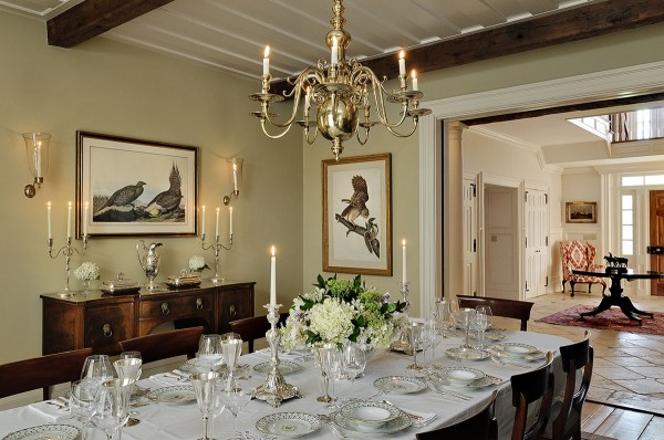 Dining Room with Audubon