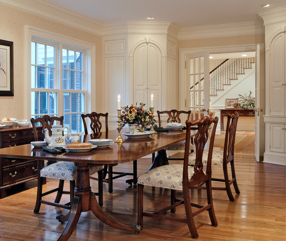 On the drawing board 5 formal dining rooms for Dining room spaces