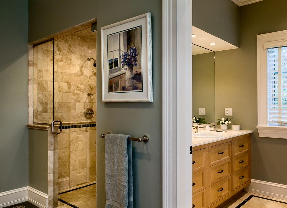 Master Bathroom Connecticut Home