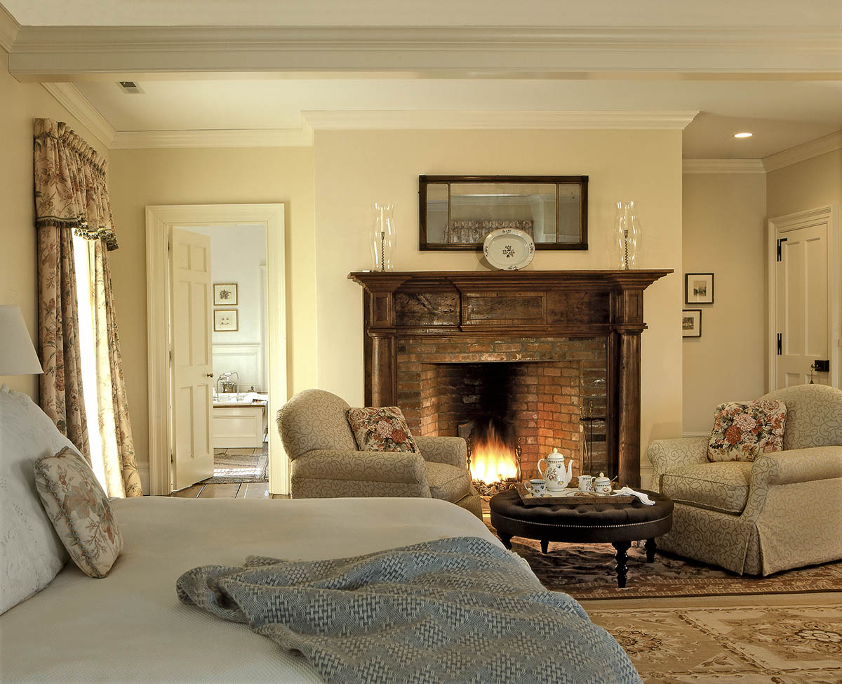 On the drawing board 5 master suites for Bedroom ideas with fireplace
