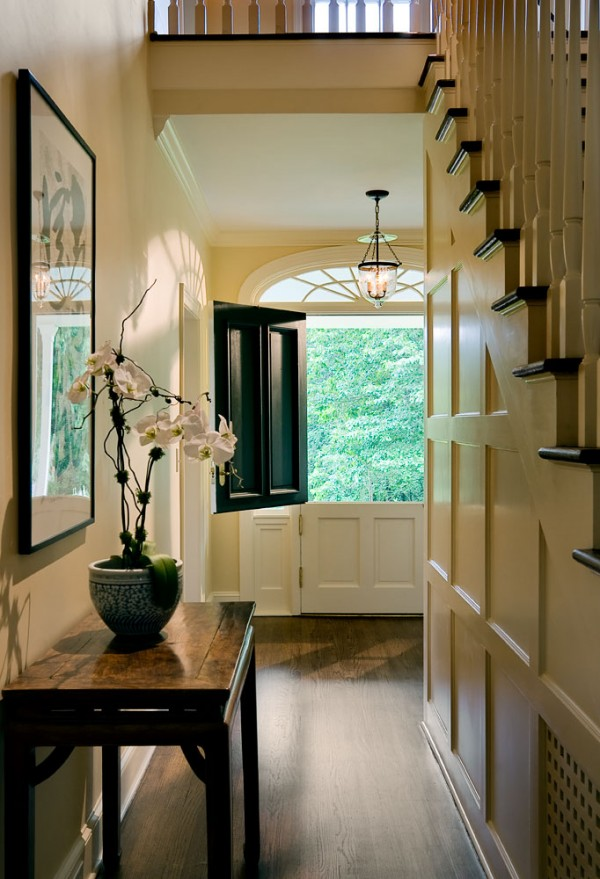 Hallway Dutch door