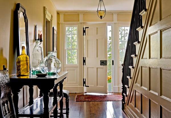 Restored Front Hallway
