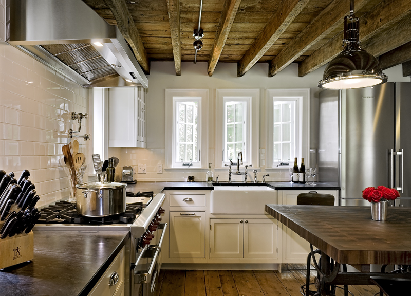 Low Ceiling Kitchen