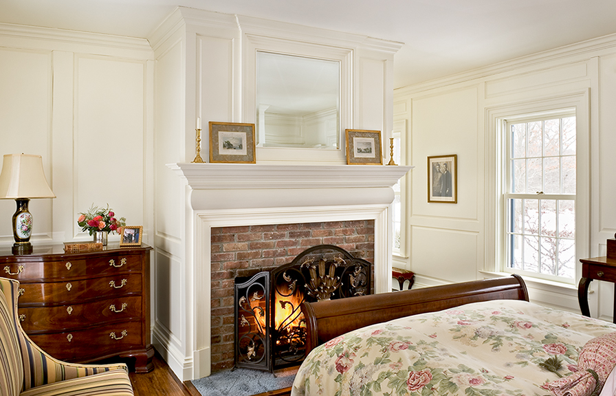 Paneled Guest Room