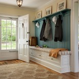 Over the years, we have designed many mudrooms.  Sometimes they are designed as a room dedicated to getting mud off of kids, pets, and everyone coming into the side door of the home.  Other times they serve light duty as entries with coat hooks and...