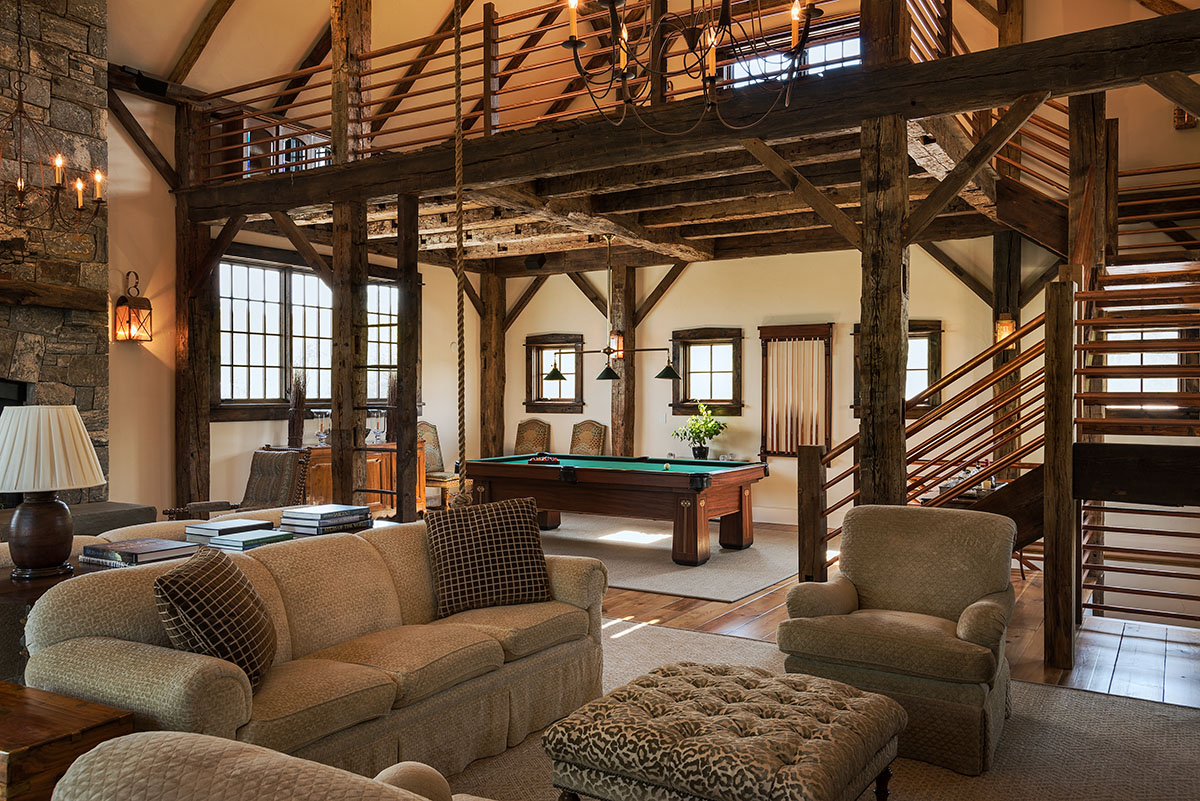 Stone Barn Addition Featured Recent Project On The