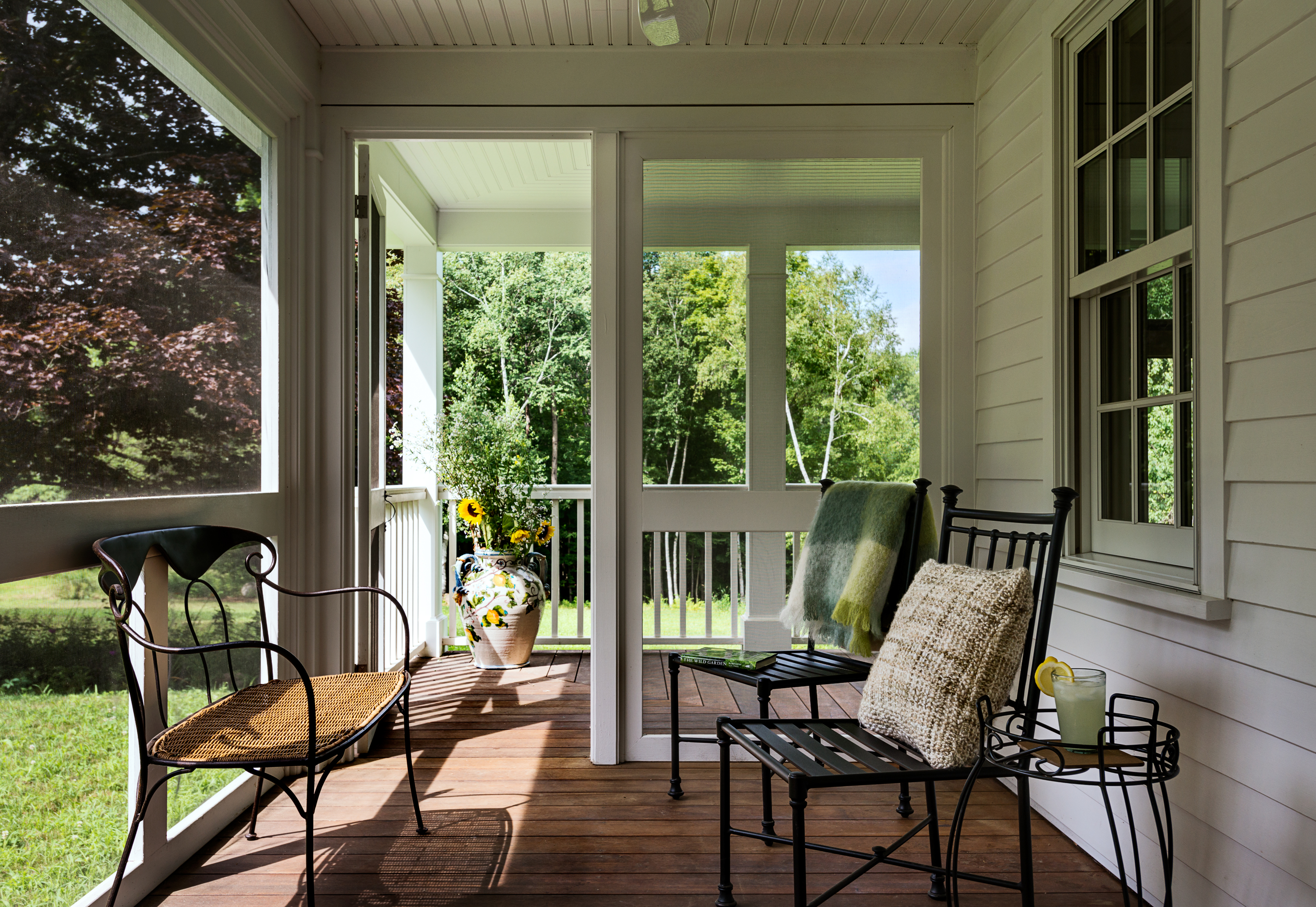 On the drawing board 7 screened porches revisited for Porch homes