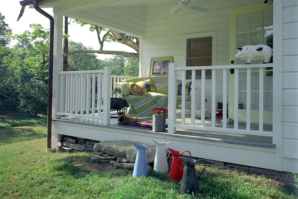 On the drawing board 7 back or side porches for The country porch com