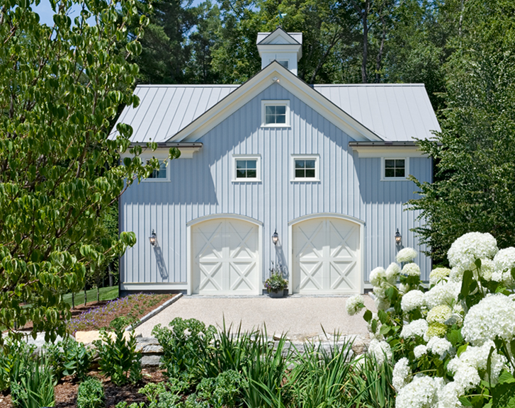 On the drawing board 6 ways to side your home for Pictures of houses with board and batten siding