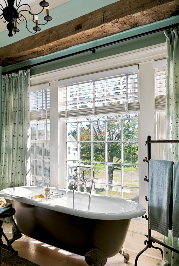 Claw Foot Tub at Window