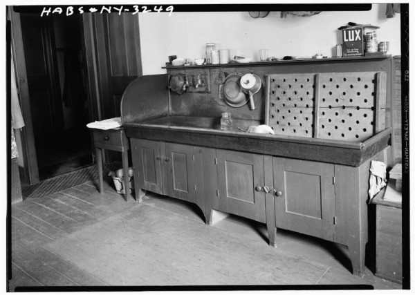 Shaker Canning Sink