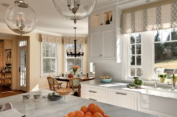 Sink with Marble Counters