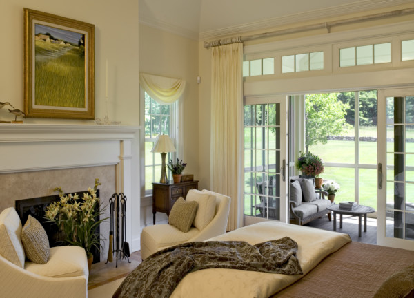 Bedroom With Screened Porch