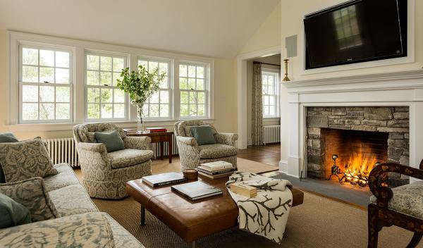 Renovated Sears Home Living Room