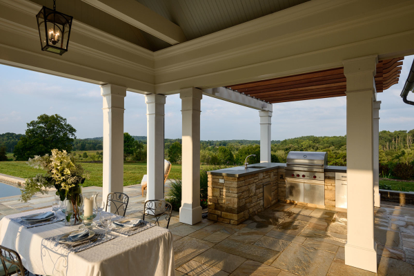 Grilling and Dining Porch