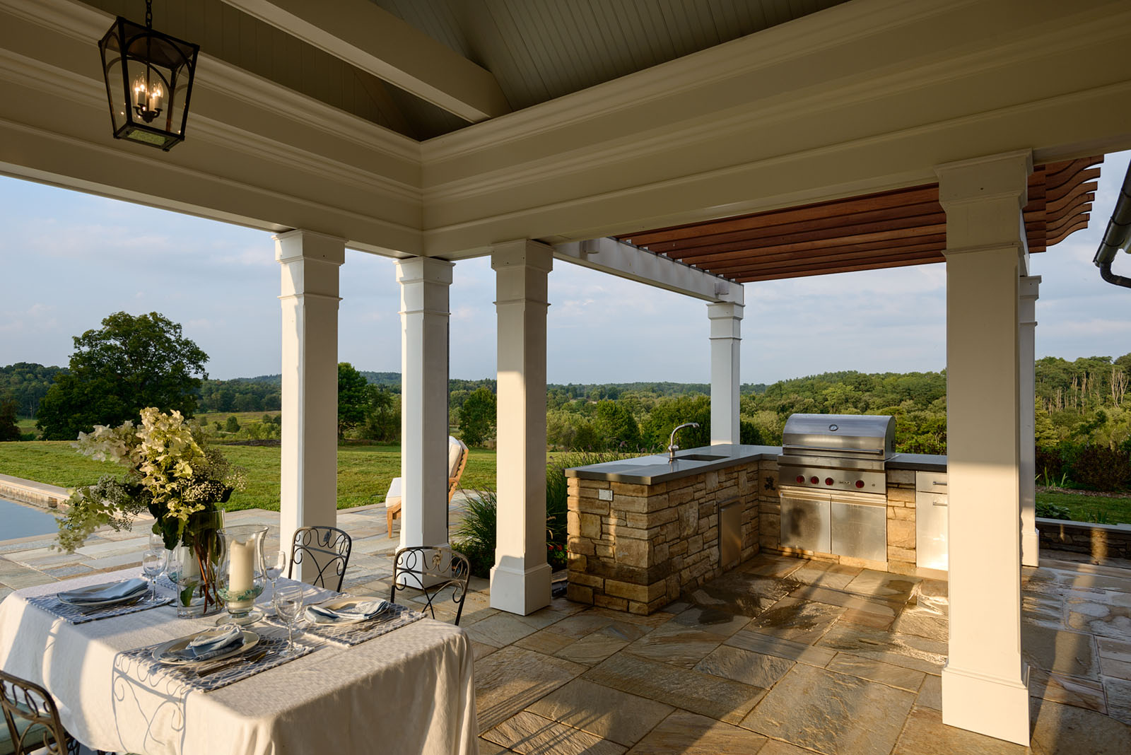 Dinner And Entertaining On 13 Porches On The Drawing Board