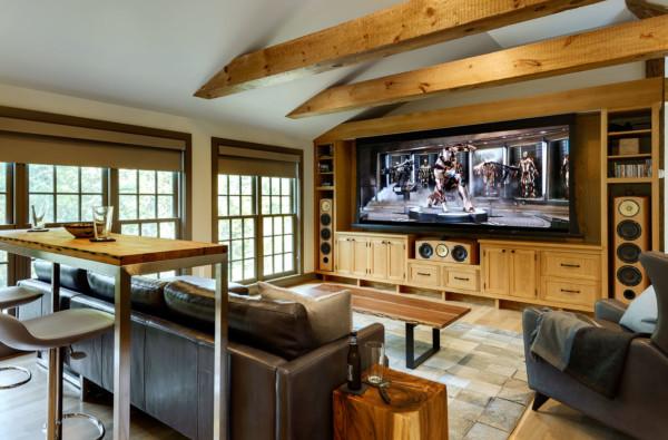 TV as Focus of Room