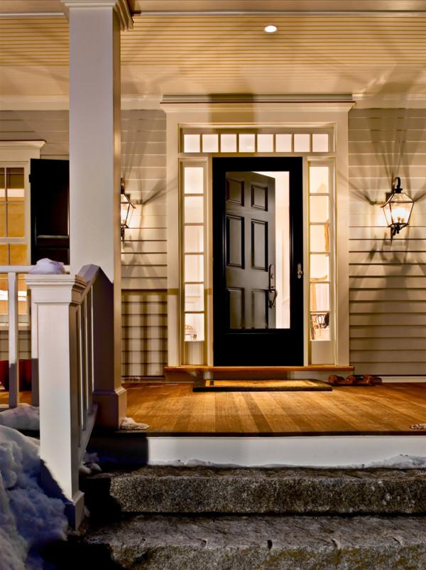 Front Door From Porch