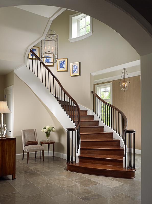 Art Along Stairway