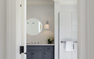 White and Grey Bath