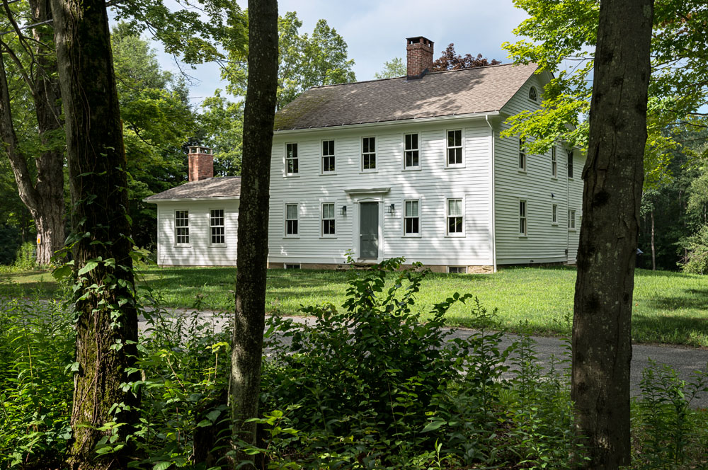 Farmhouse renovations updated on the drawing board - Colonial house exterior renovation ideas ...