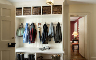 Mud Room With Pull Out Baskets
