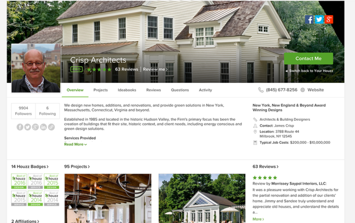 95 Projects on Houzz.com