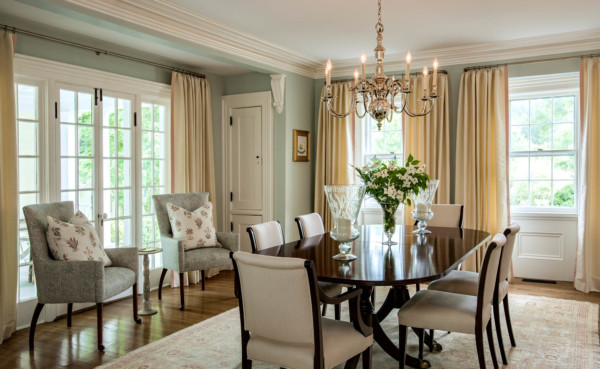 Morrissey Saypol Interiors Dining Room