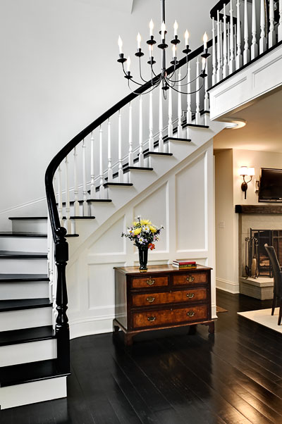 Slightly Curved Stair