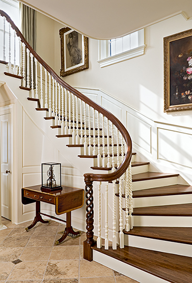 Detailed Curved Stair