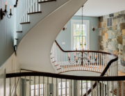 Curved Main Stair