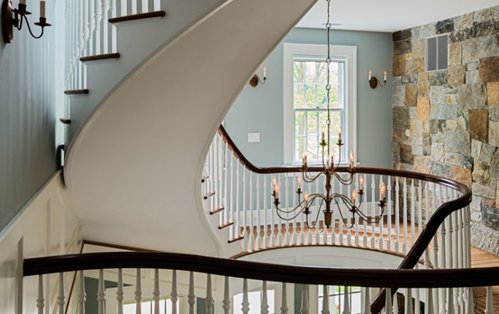 7 Curved Stairs