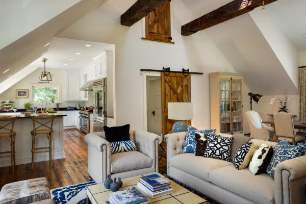 Living Room in the Eaves
