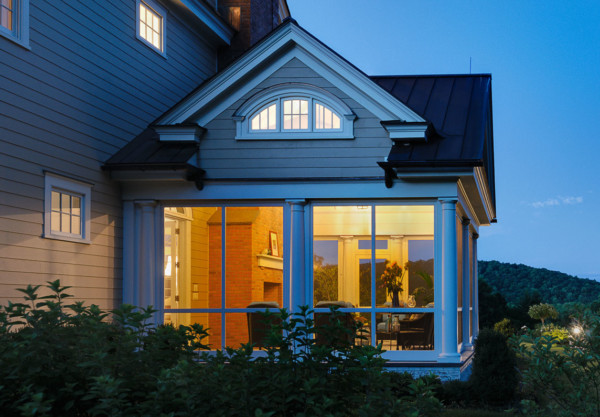 Screened Porch with Dormer