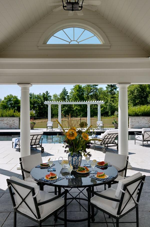 Pool House Porch