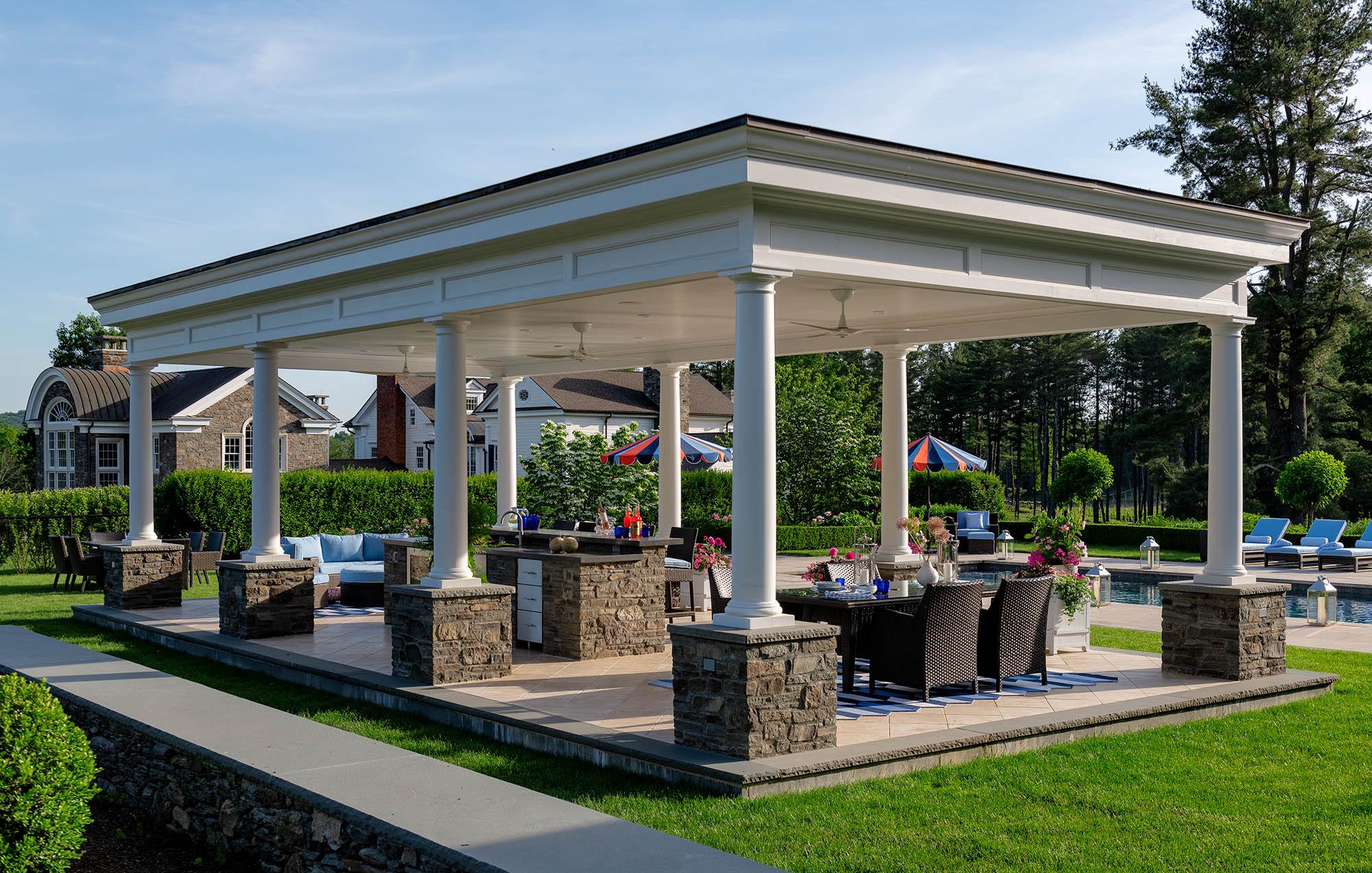Poolside Dining Pavilion