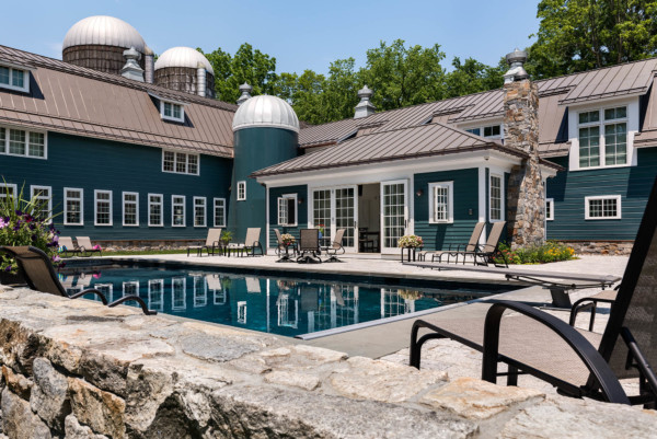 Pool House in Barn Complex