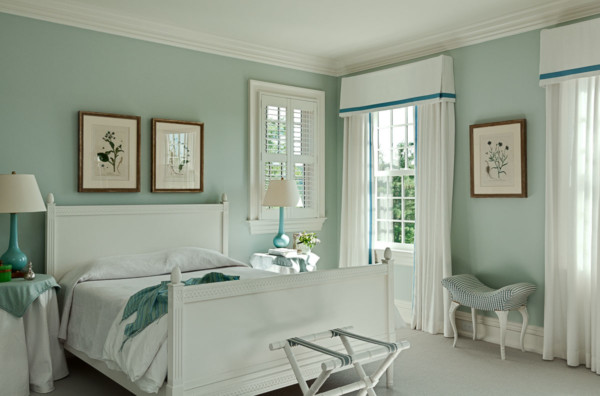 Blue Guest Room