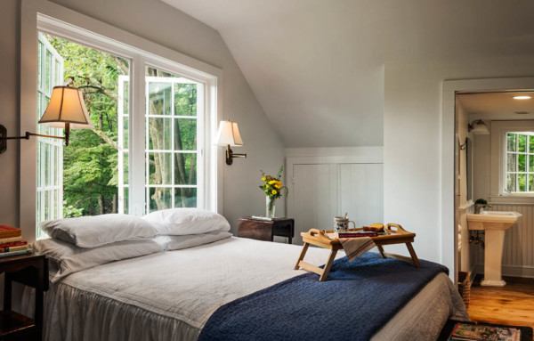 Writer's Cottage Guest Room