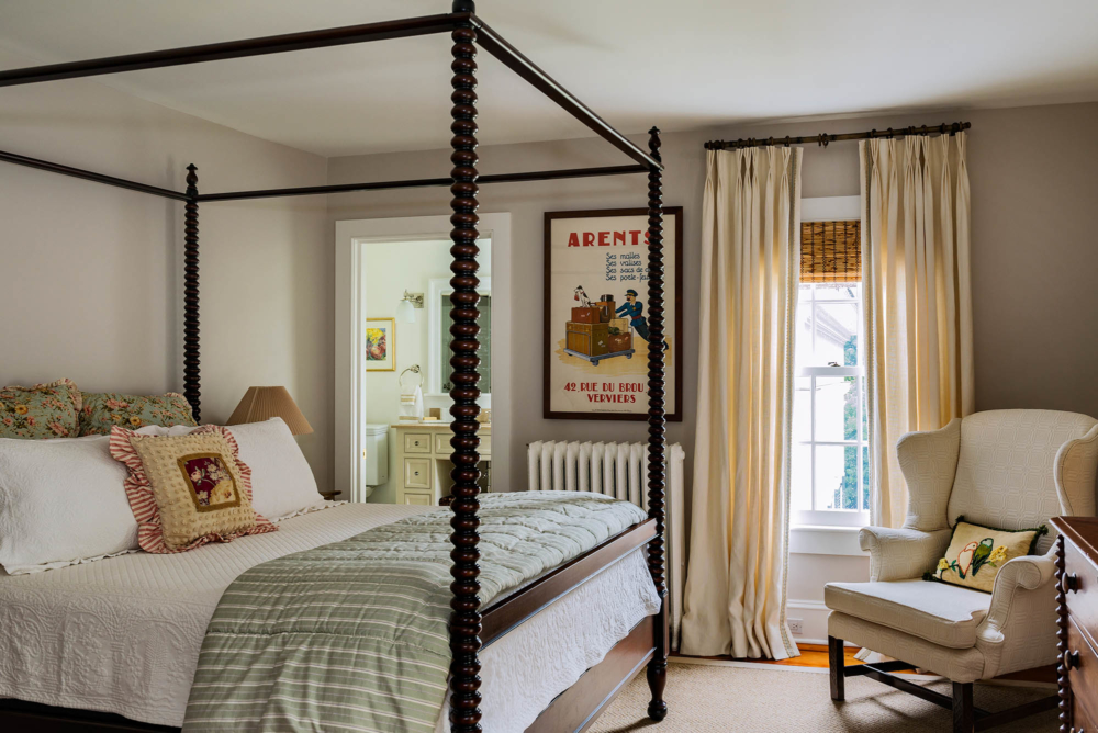 Guest Room in Greek Revival Home