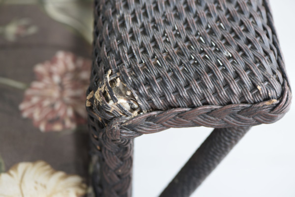 My Favorite Wicker Couch