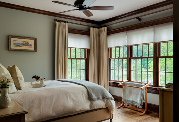 Bedroom Corner Windows