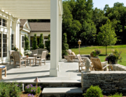 Pergola on Stone Terrace