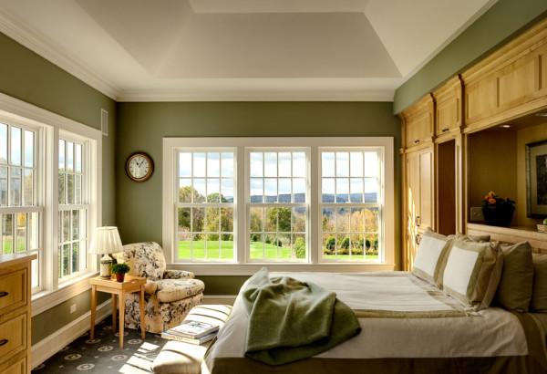 Green Master Bedroom